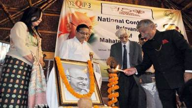 Photo of Arunachal: Governor inaugurates National Conference on Gandhi