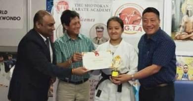 Hibu Anna selected for Delhi Sport scholarship 2019