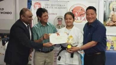 Photo of Hibu Anna selected for Delhi Sport scholarship 2019