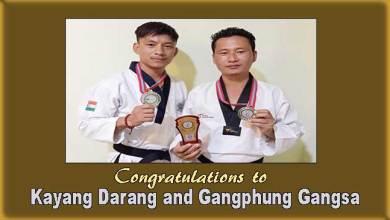 3rd Kathmandu international TaekwondoChampionship: Kayang Darang, Gangphung Gangsa bag silver medal
