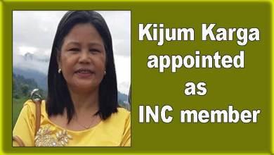 Photo of Arunachal: Kijum Karga appointed as INC member