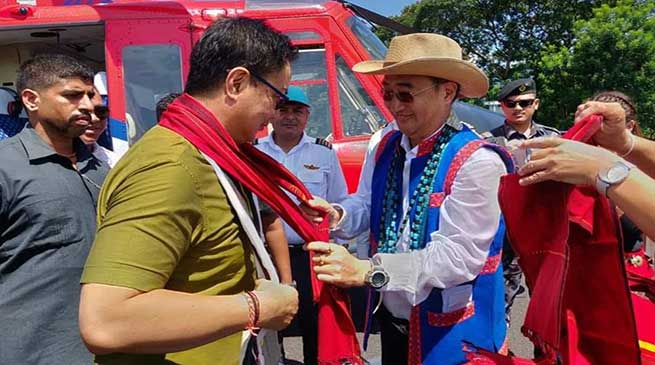 Itanagar: Rijiju appeals for preservation of tradition and culture