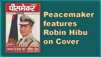 Photo of Peacemaker features Robin Hibu on Cover