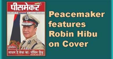 Peacemaker features Robin Hibu on Cover