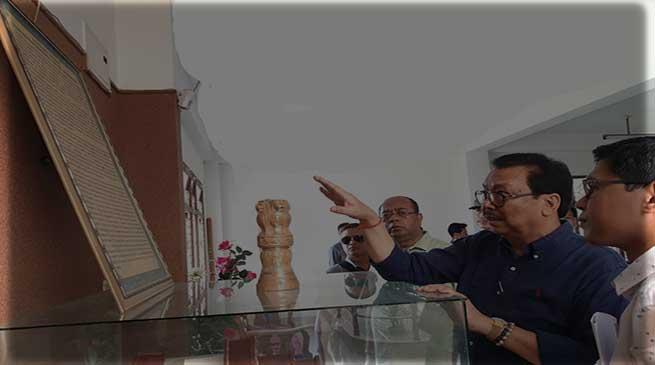 Arunachal: Chowna Mein today visits Tai Khamti Singpho Museum cum Research Centre