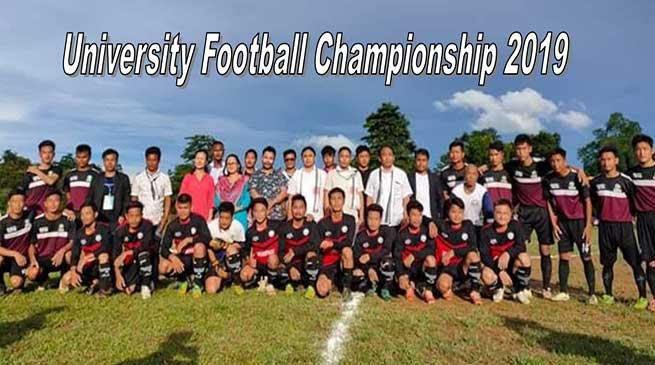 Arunachal: University Football Championship 2019 by RGU begins