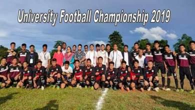 Photo of Arunachal: University Football Championship 2019 by RGU begins
