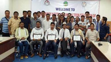 Photo of Arunachal Journalist Unions Elected New Members