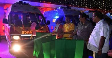 Arunachal: Chowna Mein flags off four ambulance called 'Peheli Savari' in Namsai