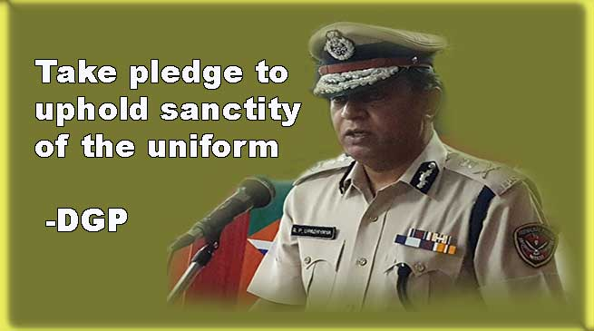 Out of which, 18961.69 sq. Take Pledge To Uphold Sanctity Of The Uniform Dgp Arunachal24