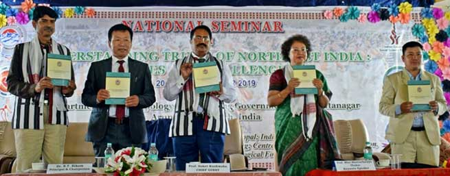 "Arunachal: DNGC Organizes National Seminar on ""Understanding Tribes of Northeast India: Issues and Challenges"""