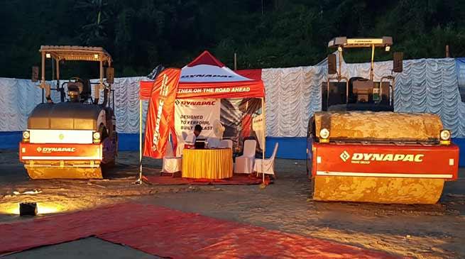 First Ever Construction Equipment Show at Itanagar