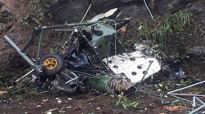Indian Army Cheetah helicopter crashes in Bhutan, 2 pilots killed