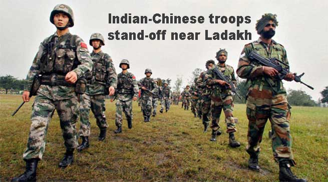 Indian-Chinese soldiers stand-off near Ladakh Ends after