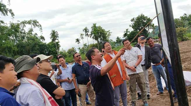Hollongi green field airport: 156 chakma families have to shift from site