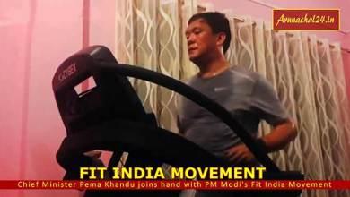 Photo of Arunachal: Pema Khandu joins hand with PM Modi's Fit India Movement