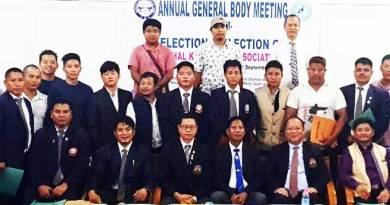 AGM of Arunachal Karate-Do Association held