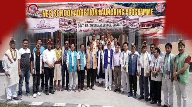 NES School adoption for GHSS Sagalee formally launched