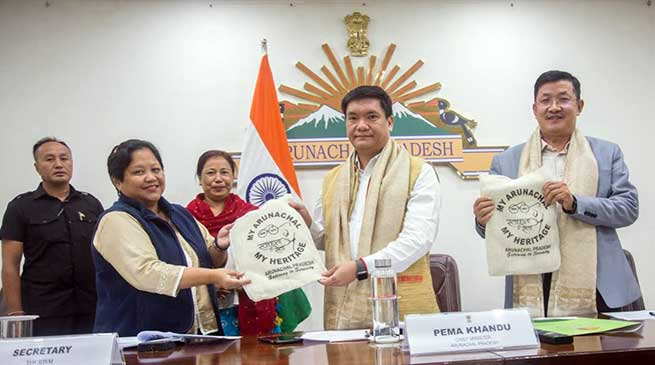 Arunachal CM urges officials to focus on promotion of tourism in the state