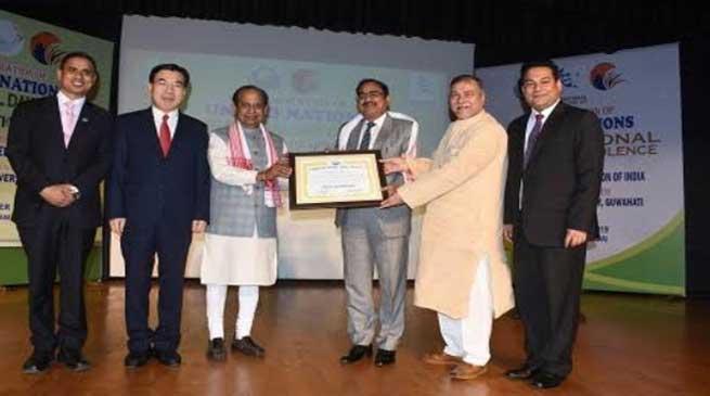 Assam: 'Ambassadors of Peace' to Governor Assam & Chancellor RGU