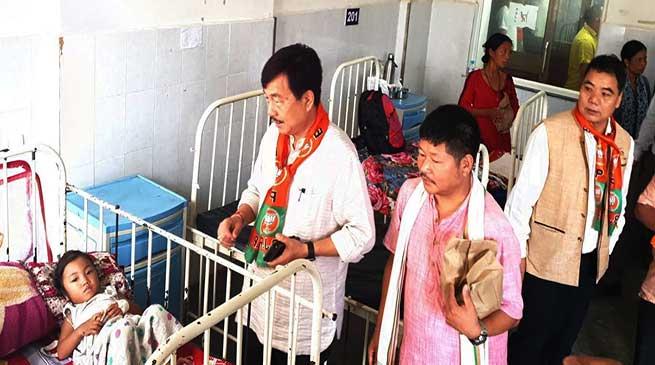 Seva Saptah: Tapir Gao launches BJP's week-long drive to mark PM Modi's birthday on Sept17