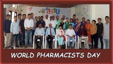 Photo of Arunachal: Apex Professional University celebrates World Pharmacists Day