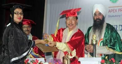 Arunachal: APU celebrates 3rdconvocation