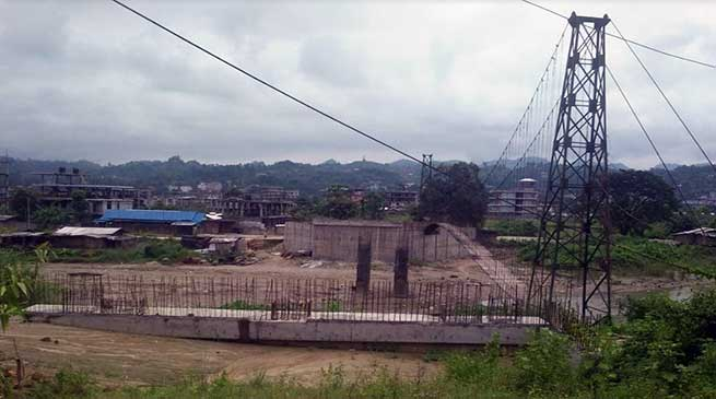 Itanagar: Bailey bridge construction delayed due toredesign and re-drawing-PWD