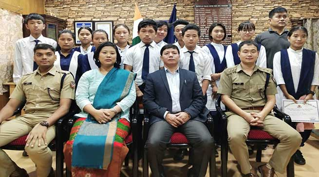 "Itanagar: Capital Police organised ""Know Your Own Police"" Programme for Students"