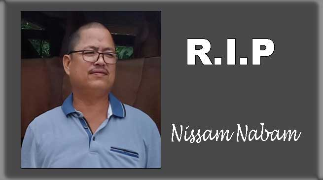 Arunachal: NWS condoles demise of social worker Nissam Nabam