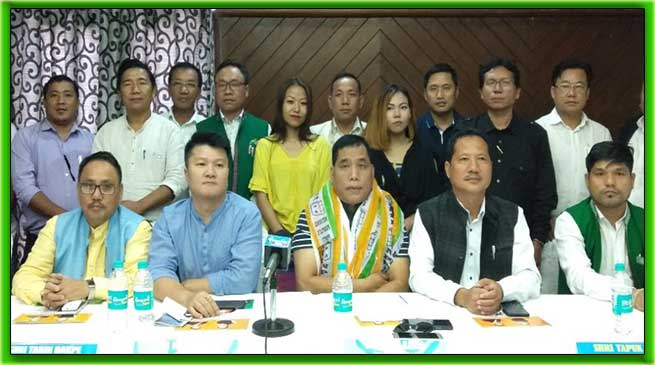 Arunachal: Tapuk Taku elected as NPP legislature party Leader