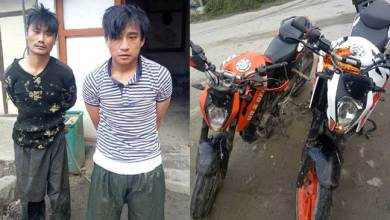 Photo of Arunachal: Jang police nab 2 bike lifters, 2 bikes recovered