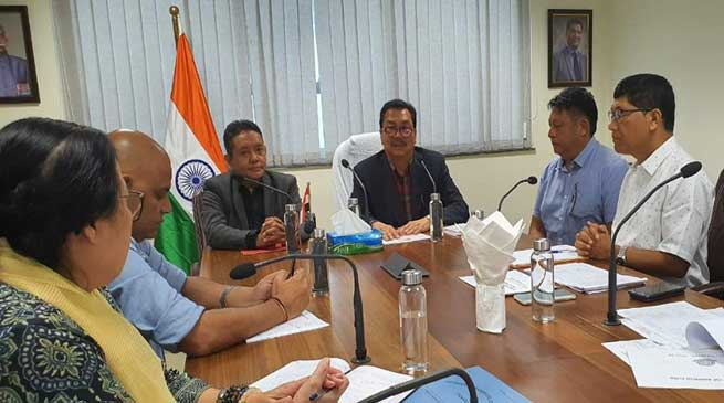 Arunachal: Dy CM asks Govt dept to Properly Utilize and implement Budget Schemes timely