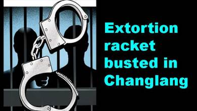 Photo of Arunachal: Extortion racket busted in Changlang