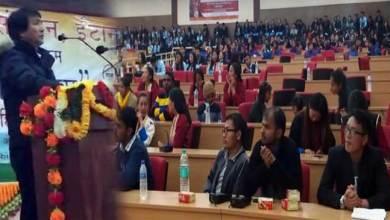 "Photo of Tawang: Arunachal Hindi Sansthan organised programme ""Hindi Ko Salam"""