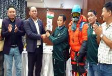 Photo of Itanagar: Mama Natung flagged of expedition team