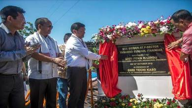 Photo of Itanagar: CM Pema Khandu Inaugurates RCC Bridge over Yagamso stream at F sector