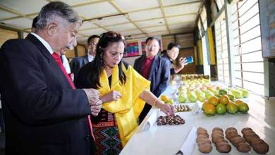 Photo of Arunachal: Governor visits State Horticulture Farm, Trout Hatching Farm at Shergaon