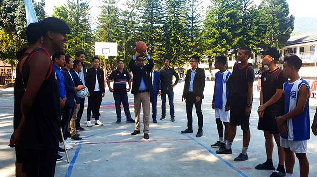 Arunachal: 1st Inter school basketball tournament-2019 begins