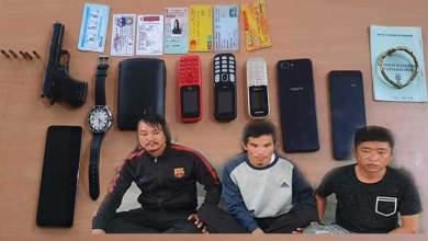 Photo of Itanagar: 3 Extortionists With Arms held For Demanding Rs 1 Crore