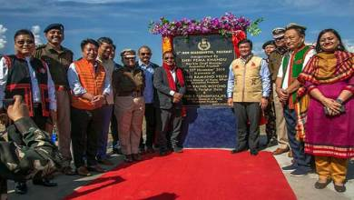 Photo of Arunachal: Khandu inaugurates the headquarters of 5th IRBn