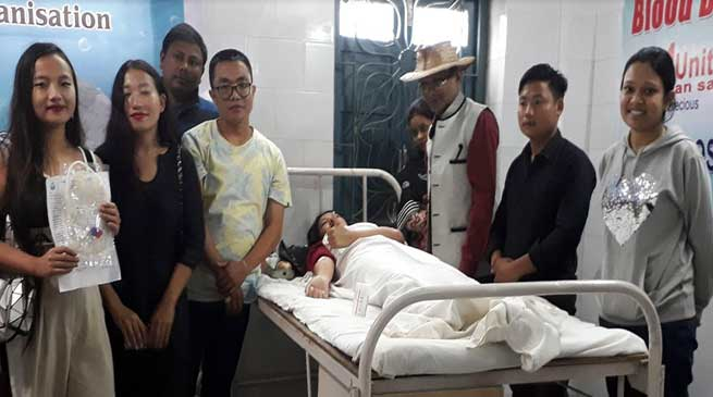 Arunachal: AVBDO organised Blood Donation Camp, donate 73 units of Blood