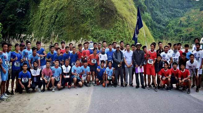 Itanagar: DNGC Organises Marathon Race to Mark Vigilance Week