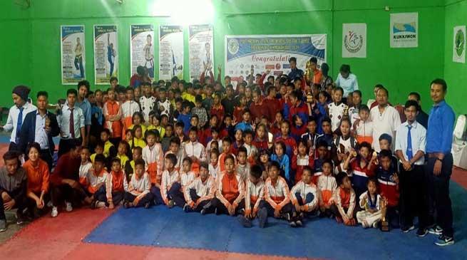 Arunachal: SLSA wins 2nd Lt Ngurang Tazap Memorial Taekwondo Championship-2019