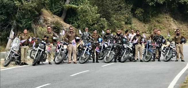 Arunachal: RIDE FOR UNITY Concludes