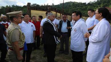 Photo of Arunachal: Governor visits Regional Mental Hospital, Midpu