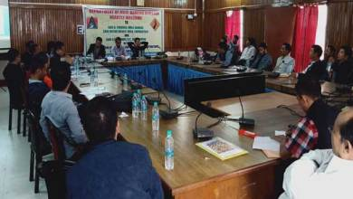 Photo of Seppa: MLAs discussed Road projects under PMGSY