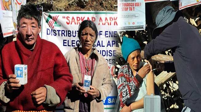 Arunachal: Sarkar Aapke Dwar held at Luguthang, situated at 14000 ft