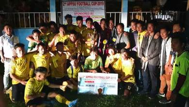 Photo of Arunachal: United Doimukh FC lift the 2nd APPSU football cup-2019