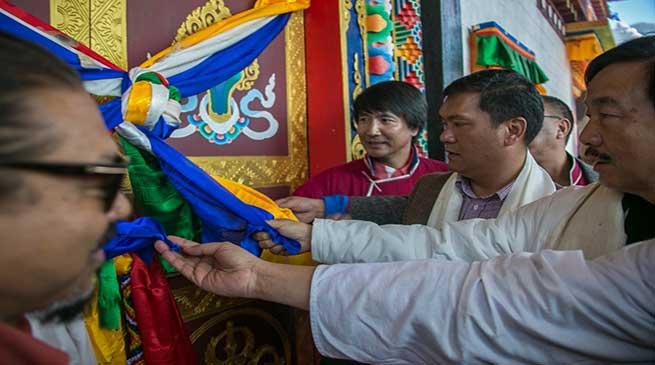 Tawang: Khandu attends Consecration and inauguration of Zangdok Palri Gompa